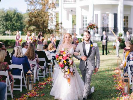 Sandlewood Manor | Real Wedding | Anastasia + Matthew
