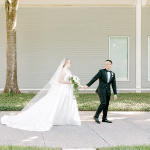 The Houston Club | Real Wedding | Sara + Miguel