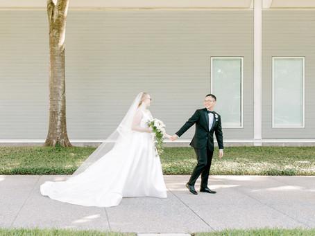 The Houston Club | Real Wedding | Sara + Miguel