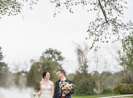 Real Wedding | Bridal Oaks | Cypress, Texas | Rachel + Doug
