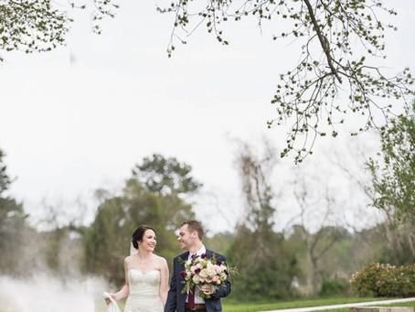 Real Wedding | Bridal Oaks | Cypress, Texas | Rachel + Doug