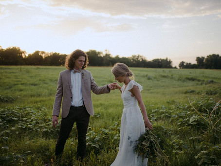 Real Wedding | Brady + Rebecca | A Backyard Wedding in Columbus, TX