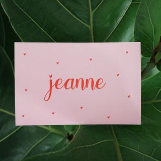 Jeanne-roze-rood-geboortekaartje-hartjes