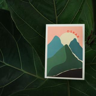 OSkar-geboortekaartje-maan-bergen-jongen