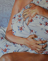 kalisz aleksandra, Comfort, oil on canva
