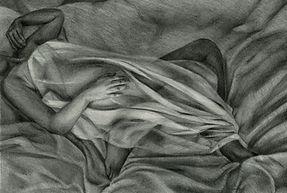 aleksandra kalisz, sketch 3, pencil on p
