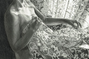 aleksandra kalisz, sketch 1, pencil on p
