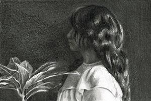 aleksandra kalisz, care, pencil on paper