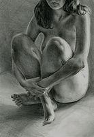 aleksandra kalisz, sketch 4, pencil on p
