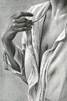 aleksandra kalisz, morning, pencil on pa