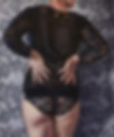 kalisz aleksandra, oil on canvas, 60x50c