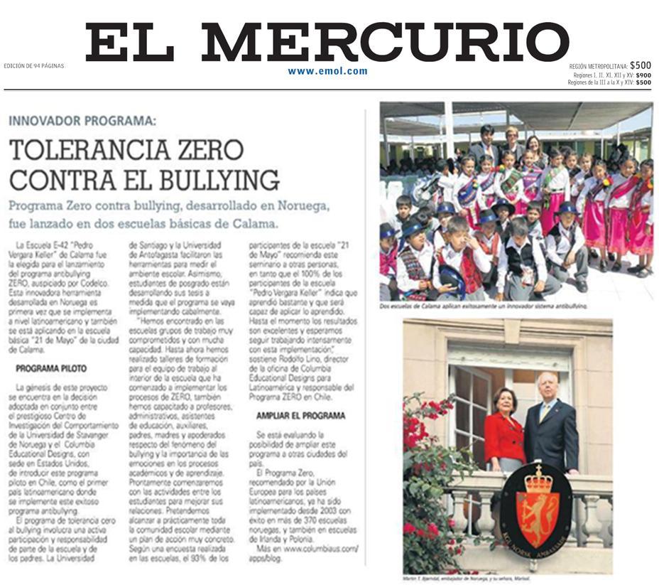 Mercurio de Santiago-Chile