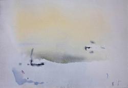 Akvarell - Fjorlys