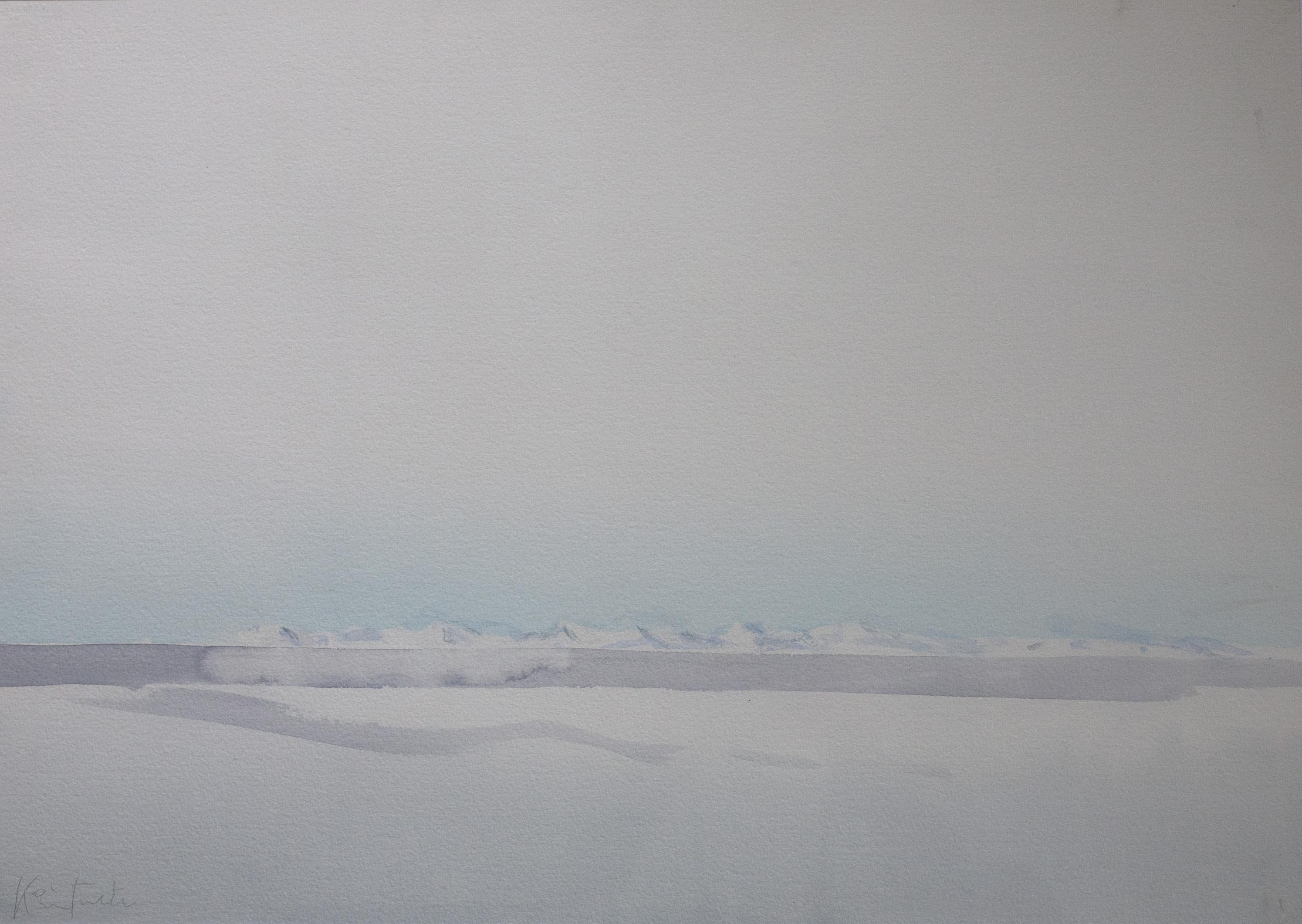 Akvarell - Isjorden