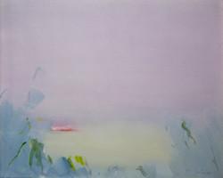 Akvarell - Sen sommerkveld