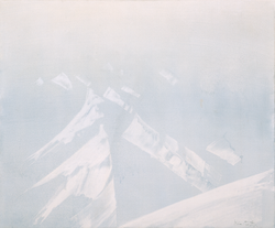Olje - Innflygning over Svalbard