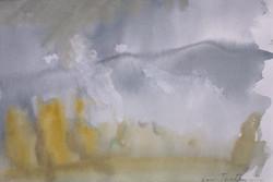 Akvarell - landskap