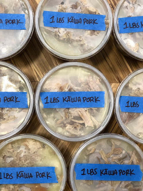 1LBS Frozen Kālua Pork