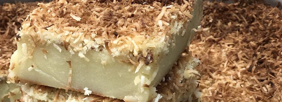 Butter Mochi Square (1)