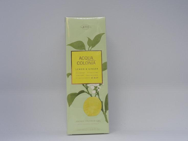 4711 Acqua Colonia showergel lemon en ginger