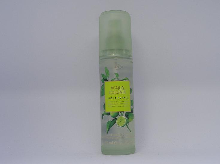 4711 Acqua Colonia body spray Lime & Nutmeg