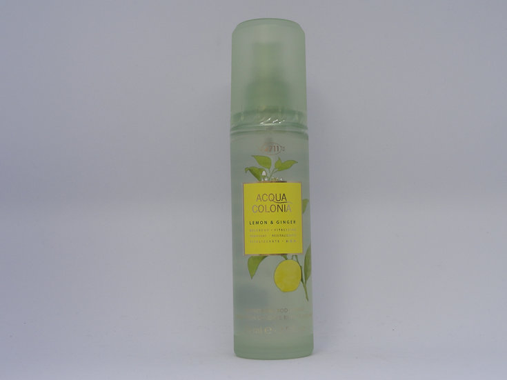 4711 Acqua Colonia body spray lemon & ginger