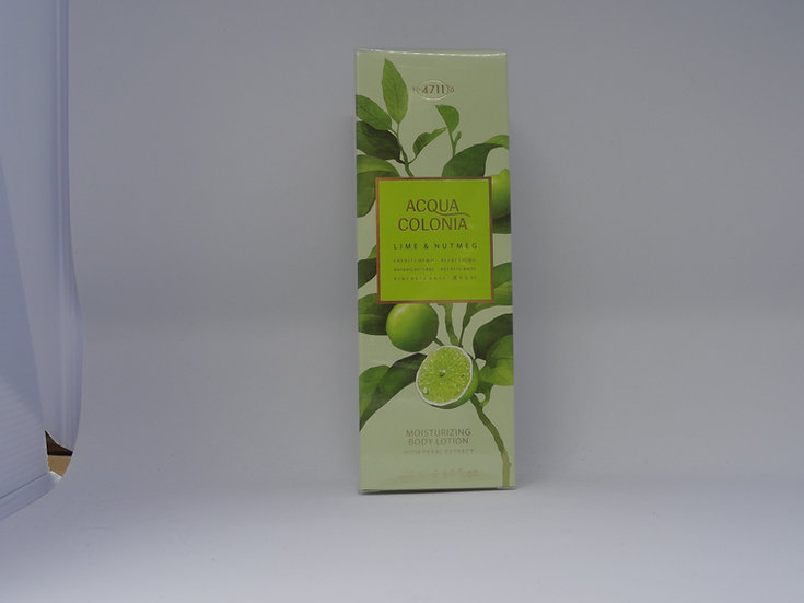 4711 Acqua Colonia body lot. lime & nutmeg