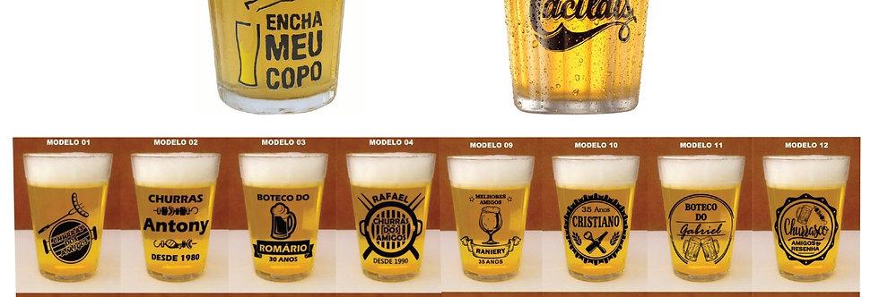 50 Copos Brasileirinho em acrilico personalizados