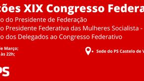 Eleições XIX Congresso Federativo