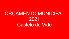 Orçamento 2021 - declaração de voto