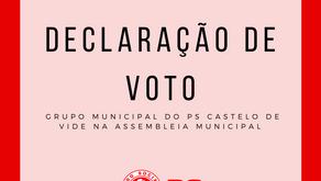 Declarações de Voto na Assembleia Municipal de 24 de abril