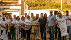Candidatos do PS voltam a visitar Castelo de Vide e Póvoa e Meadas