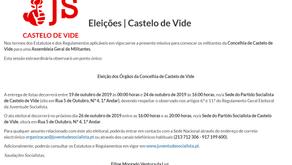 Eleições na Juventude Socialista de Castelo de Vide