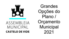 Grandes Opções do Plano / Orçamento Municipal 2021 - Declaração de VOTO