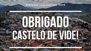 PS e JS de Castelo de Vide agradecem a confiança dos Castelovidenses e Povoenses