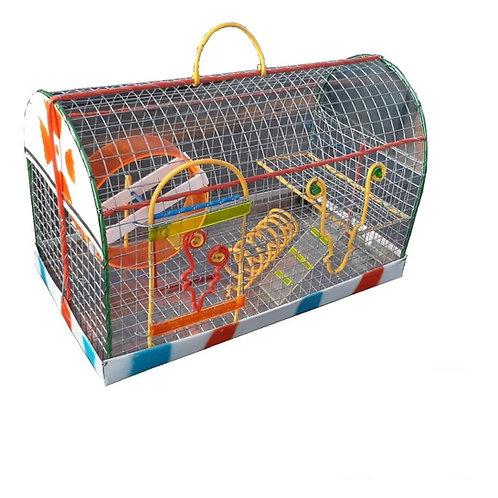 Jaula mediana hamster