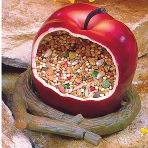 Comedero Manzana para Aves