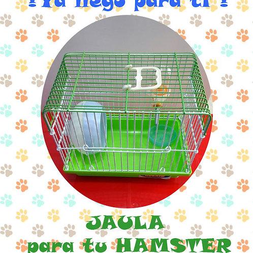 Jaula Hamster  13x18x19