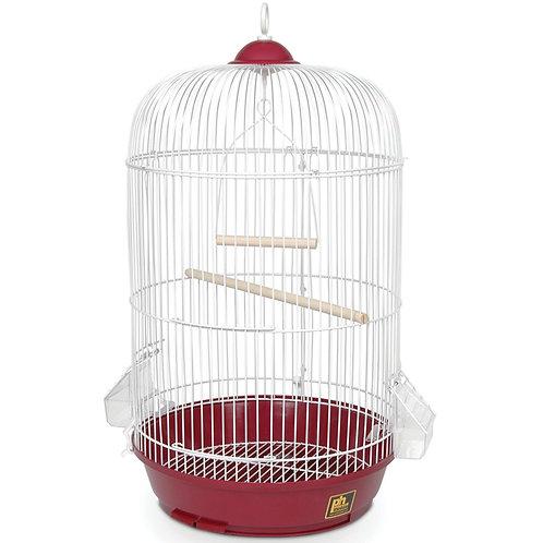 Jaula Aves redonda clásica