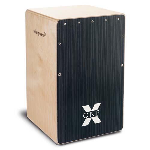 SCHLAGWERK Cajon X-One Hard Coal Stripes