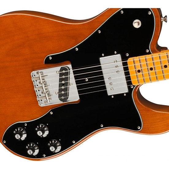 Fender American Original 70s Telecaster® Custom, Maple Fingerboard, Mocha