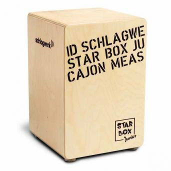 SCHLAGWERK Cajon Junio Star Box