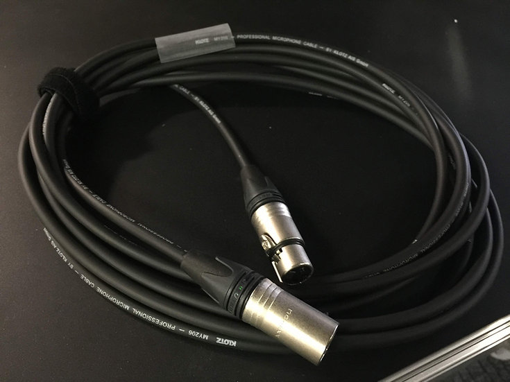 BACKSTAGE - XLR Neutrik Pro M/F 10m