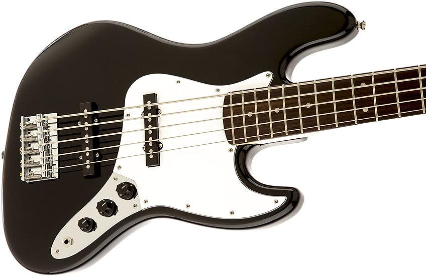 Affinity Series™ Jazz Bass® V, Laurel Fingerboard, Black