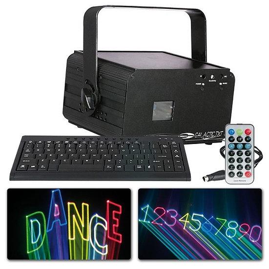 SHOWTEC Galactic TXT Laser RGB