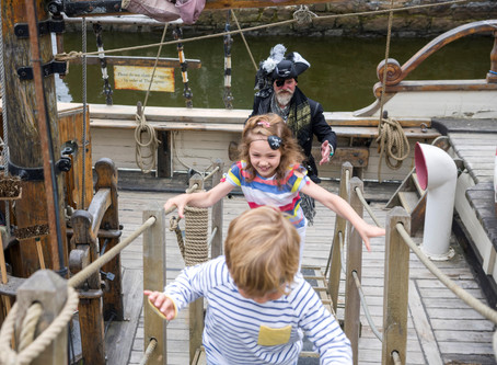Hop Aboard a Pirate Ship and Hunt for Buried Treasure this Bank Holiday