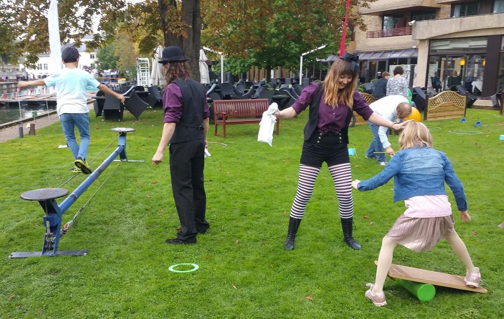 Circus Workshop Leaders