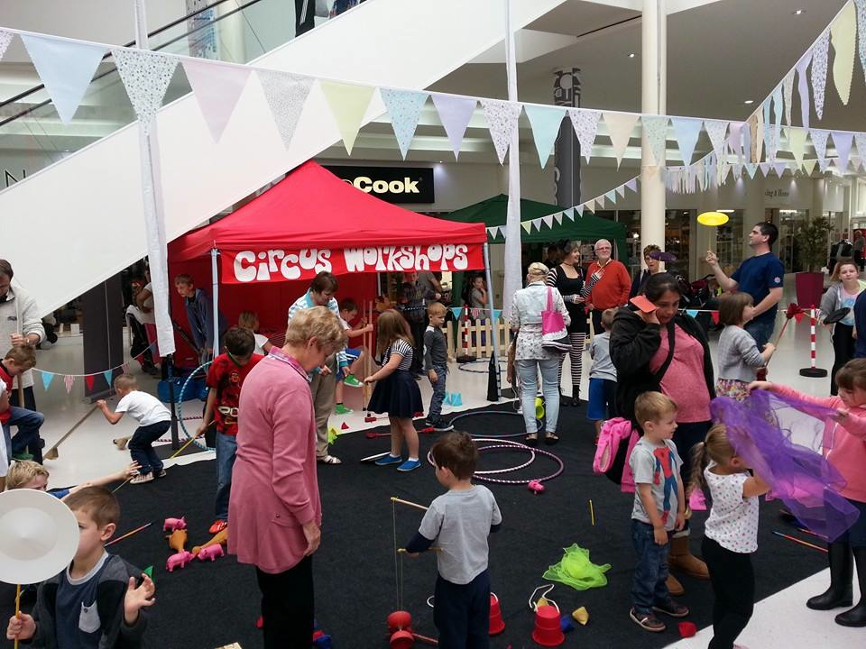 Circus workshops busy