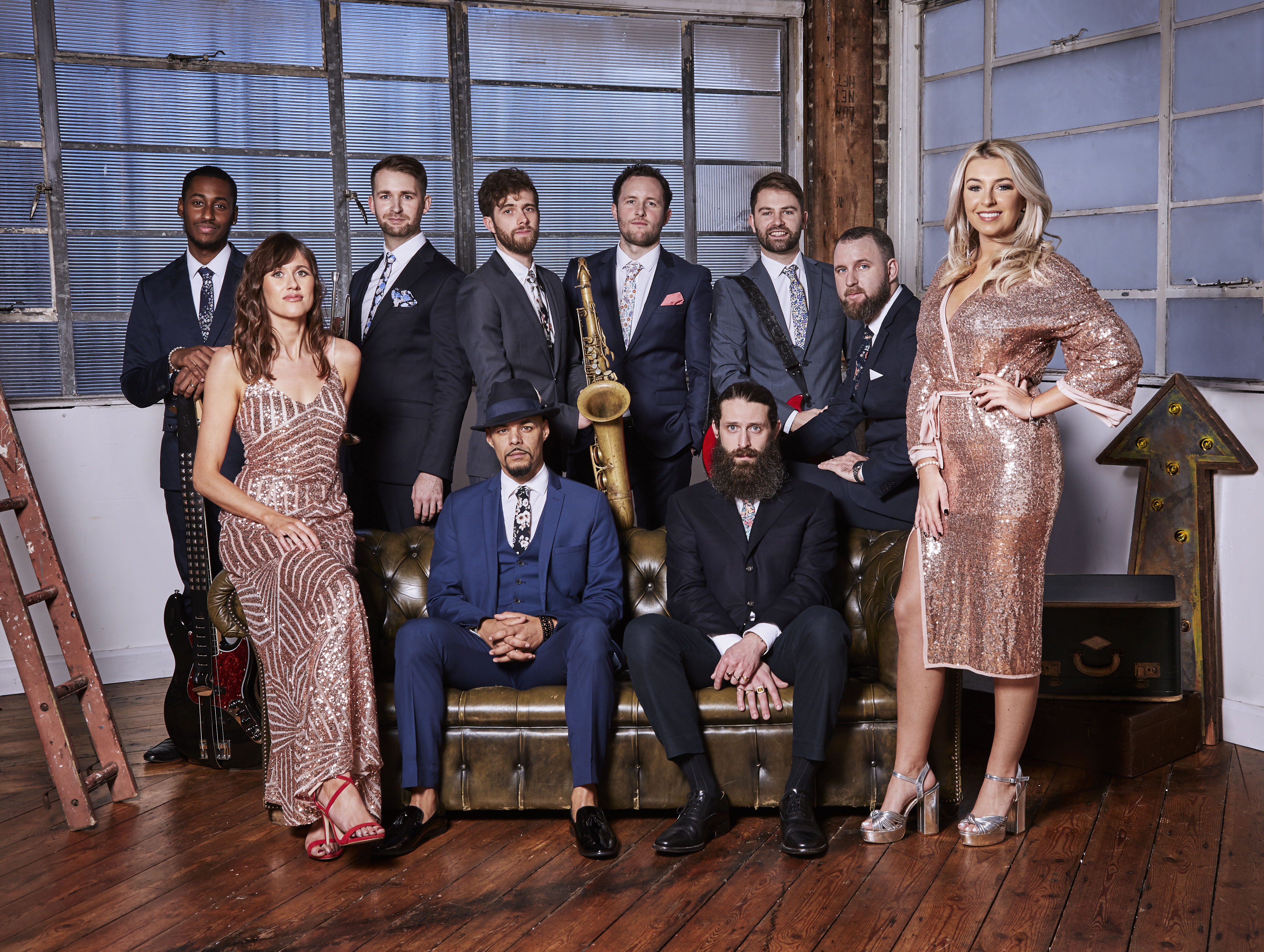 The London Soul Band 10 piece 2
