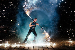Amazing Fire Pyrotechnic Show